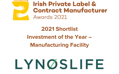 LYNOSLIFE shortlisted for Irish Private Label & Contract Manufacturer Awards